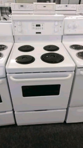 Refigerators and stove with warranty part's and labour