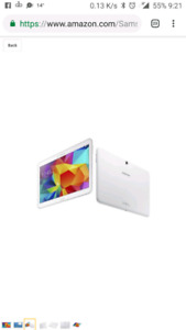 samsung galaxy tab 4 10.1 white 10/10 with reciept