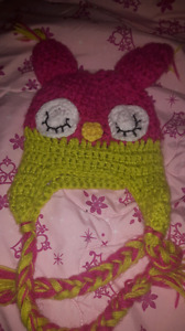 Adorable girls owl hat $10