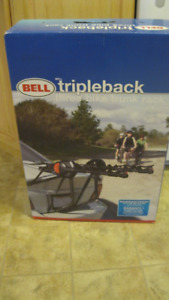 Bell Sports Triple Back 3-Bike Trunk Mount Rack