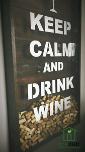 Déco Vino Keep Calm and Drink Wine !