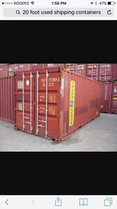 Storage or shipping container