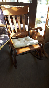 Antique Rocking Chair $150
