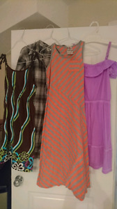 Set of 4 dresses aged 12-14
