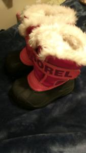 Sorel Toddler Boots Size 5