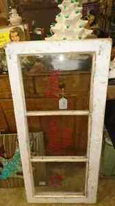 Antique window to hang your stocking hooks saying  London Ontario image 1