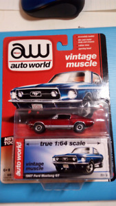Autoworld Ultra Red 1967 Ford Mustang