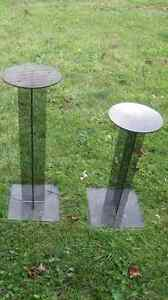 Acrylic or Plexiglass Pedestal Stand 2 feet high Base 1 sq. foot Cornwall Ontario image 4