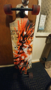 Trade new board for forks and reaer shock