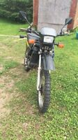 1990 yamaha dt50 street and trail for sale!