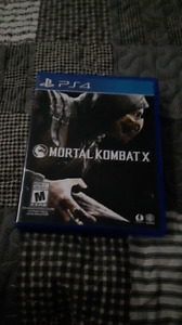 Mint condition mortal combat X