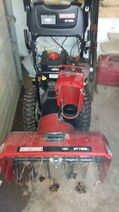 "Snowblower, Craftsman 27"" with cab."