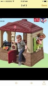 LOOKING for kitchen set & playhouse