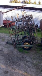 16' John Deere Spring Tooth Cultivator