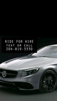 ((Alternate Uber/taxie)) ride for hire 204-819-3330))