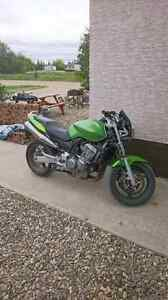 Reduced.  Exelent and real nice bike. 2004 Honda CB 919 20000km