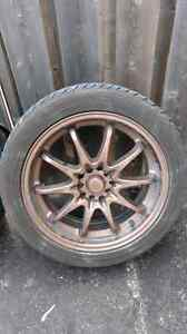 Selling Rims with summer tires.  Kitchener / Waterloo Kitchener Area image 2