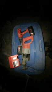 Milwaukee cordless  hammer drill and sawzall