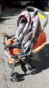 Collapsible Twin Stroller Peterborough Peterborough Area image 3