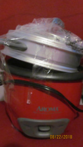 Aroma Rice cooker with steamer