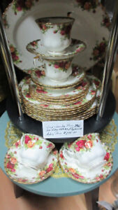 "WILD COUNTRY ROSE FINE CHINA AT ANGIE O""H ANTIQUES"