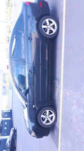 AUTOMATIC 2004 BLACK MAZDA 3 FOR SALE AS IS