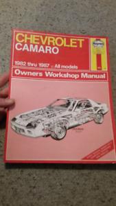 Haynes manual Chevrolet Camaro