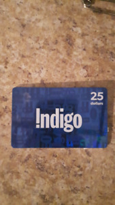 $25.00 - Chapters, Indigo, Coles Gift Card