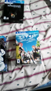 Selling psvita collectors edition games