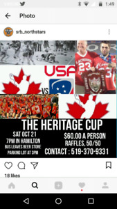 Heritage Cup Tickets