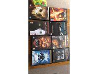 8 DVDs £5