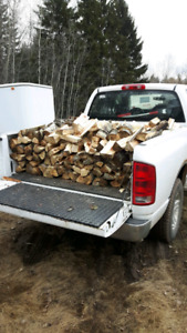Firewood for sale starting at $120 per truckload