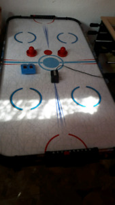 Air Hockey  Table plus accessories