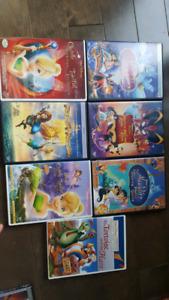 7 dvds Disney vendus en lot ou à