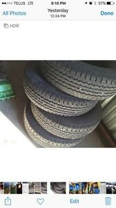 16 inch Goodyear Wrangler tires for sale
