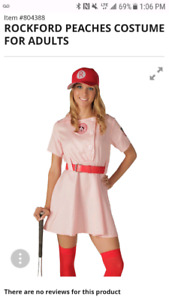 Rockford peaches Halloween costume