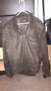 Philip Russel leather jacket