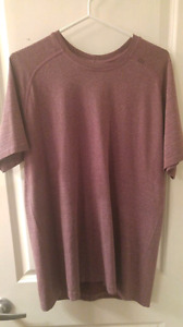 Mens lululemon shirt