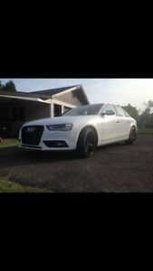 Audi A4 2014 look S4