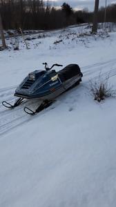 Kawasaki drifter snowmachine