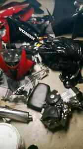Parting out 2008 Cbr 125r