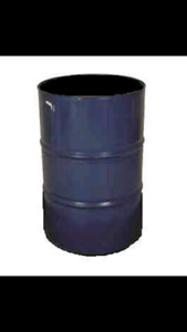 45 Gallon Steel Barrels