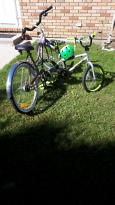 Adult and kid bikes