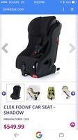 Clek Foonf Car seat for sale! Mint condition.