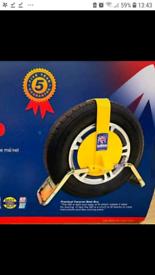 Bulldog QD Wheel Clamp with 2 keys