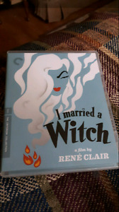Criterion Collection I Married A Witch Blu Ray For Sale