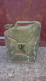 Jerry can WD 1952 vintage