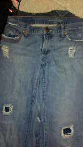 American Eagle Outfitters Ripped Jeans