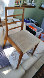 Macintosh of Kirkcaldy table and 4 chairs