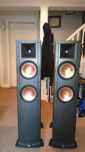 "Klipsch RF-82 and 12"" Velodyne DPS series powered sub"